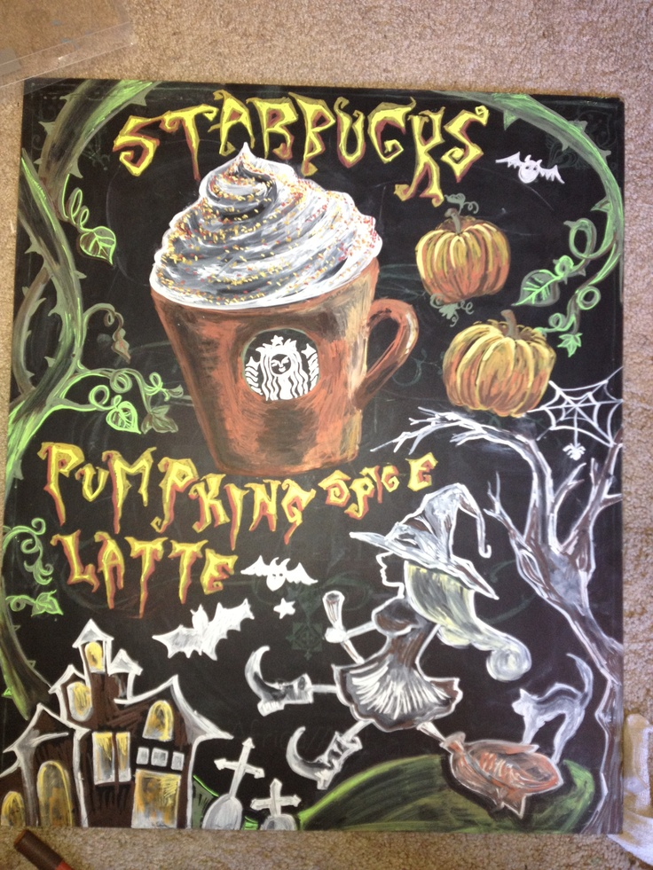 starbucks boards drawing