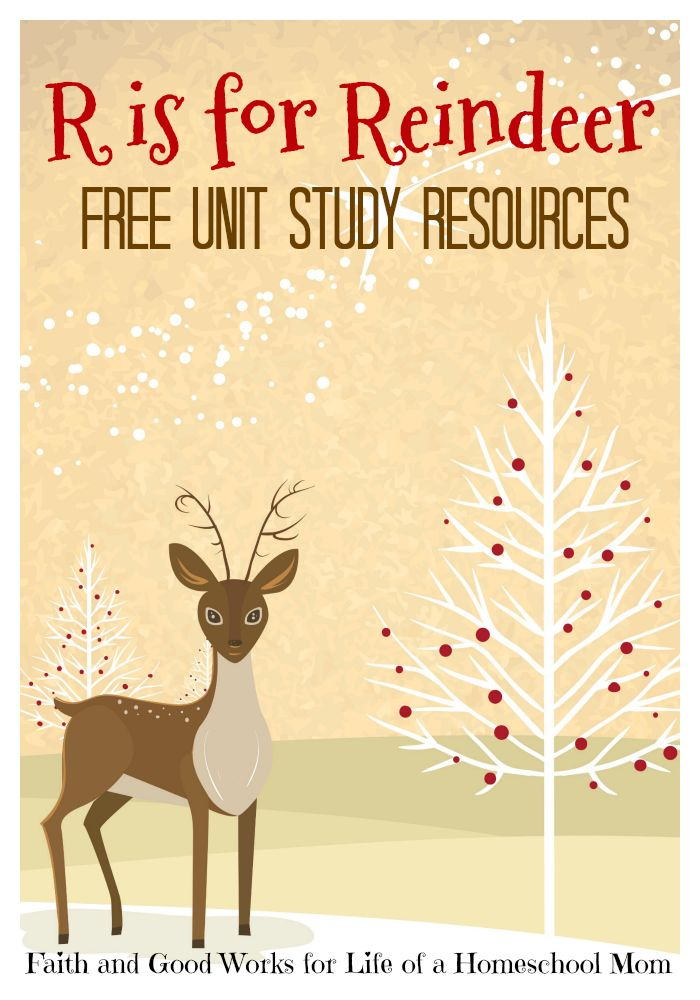 Create your own fun-filled reindeer until study with these resources.