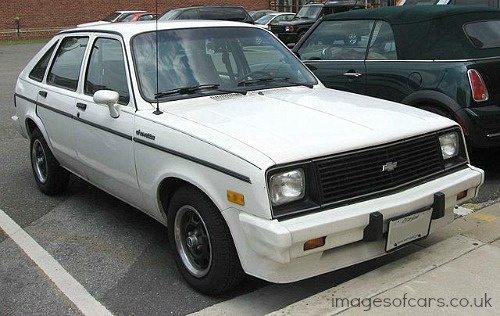 1983 Chevrolet Chevette- LoL!!! My mom & step-dad had this car....~Cindy McMullen~