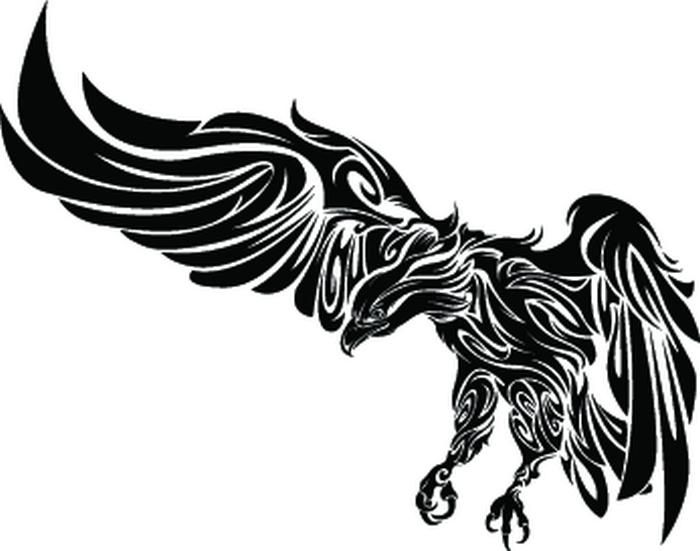 Image detail for -Tribal Eagle 2010 / Eagle Tattoo Designs / Free Tattoo Designs ...