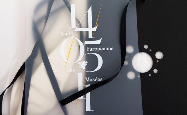 European Museums Night by Murmure , via Behance