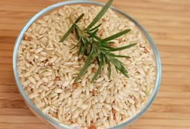 Brown Rice -   Staple if you are gluien free, so full of nutrients, particularly the B vitamins.  Forget about white rice!   (And it tastes so much better)  Even before going GF, i rarely ate white rice, (I will only eat white rice if it is Basmati, which has the lowest Glycemic index of all white rices.)
