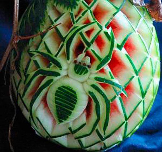 Creative Watermelon Carving Art Designs (70)