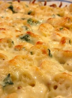 Chicken Florentine Casserole. This is a nice one – really tasty, and you can make it ahead. Add a salad and some garlic bread, and you've got yourself a great dinner!