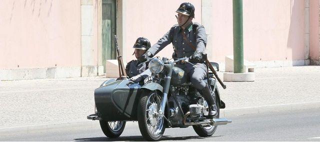 A Guarda Montada: Exposição de Motos da GNR no Motorclássico na FIL