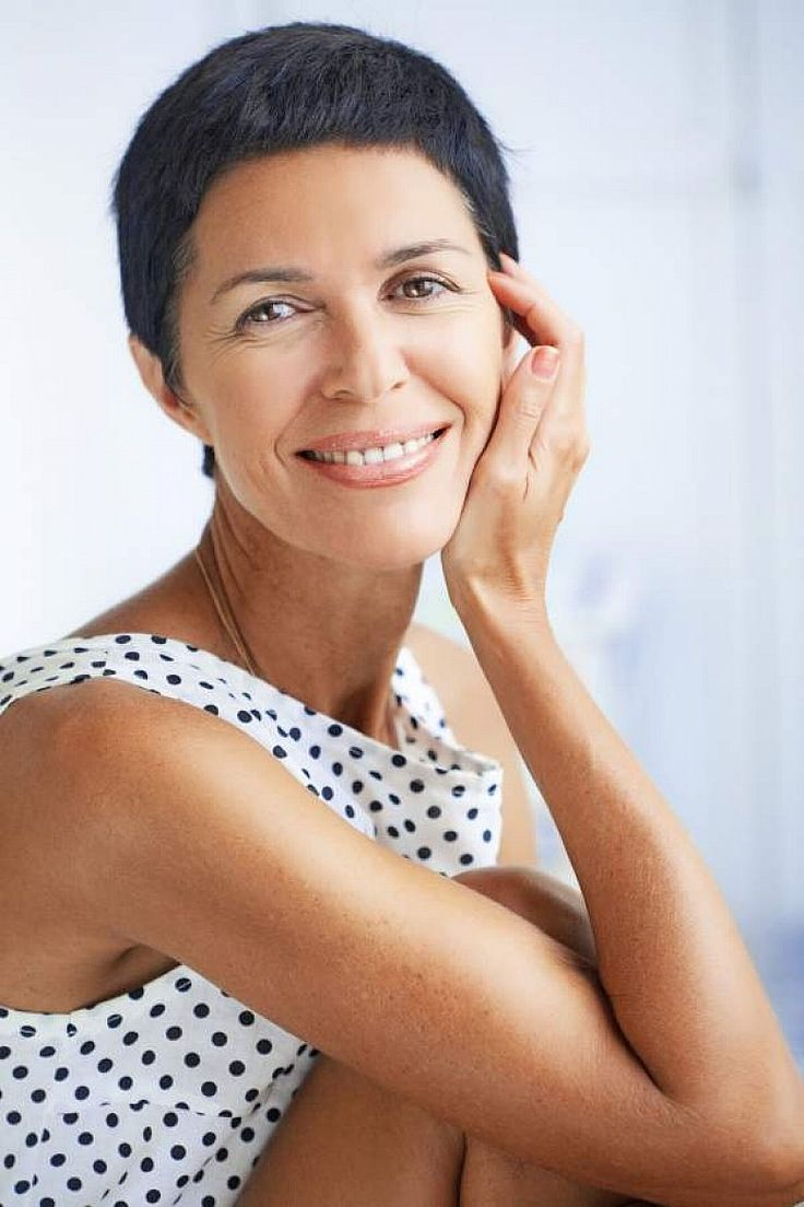 Very Short Hairstyles For Women Over 50 With Black Hair
