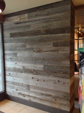 Reclaimed Wood | Starbucks | Black's Farmwood | California | Reclaimed &  Recycled Wood | Black's