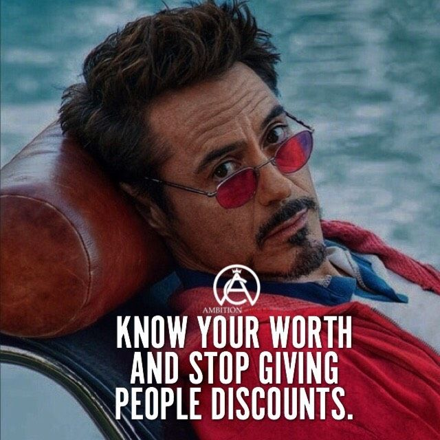 Stop giving people discounts. It's time people start paying you your true worth….
