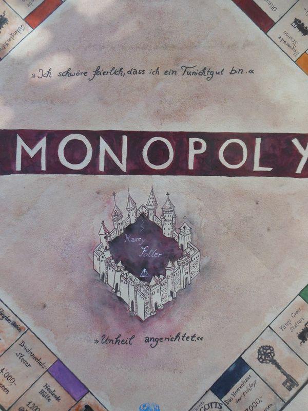 Bastelprojekt: Harry Potter Monopoly (How to) - Sim Forum