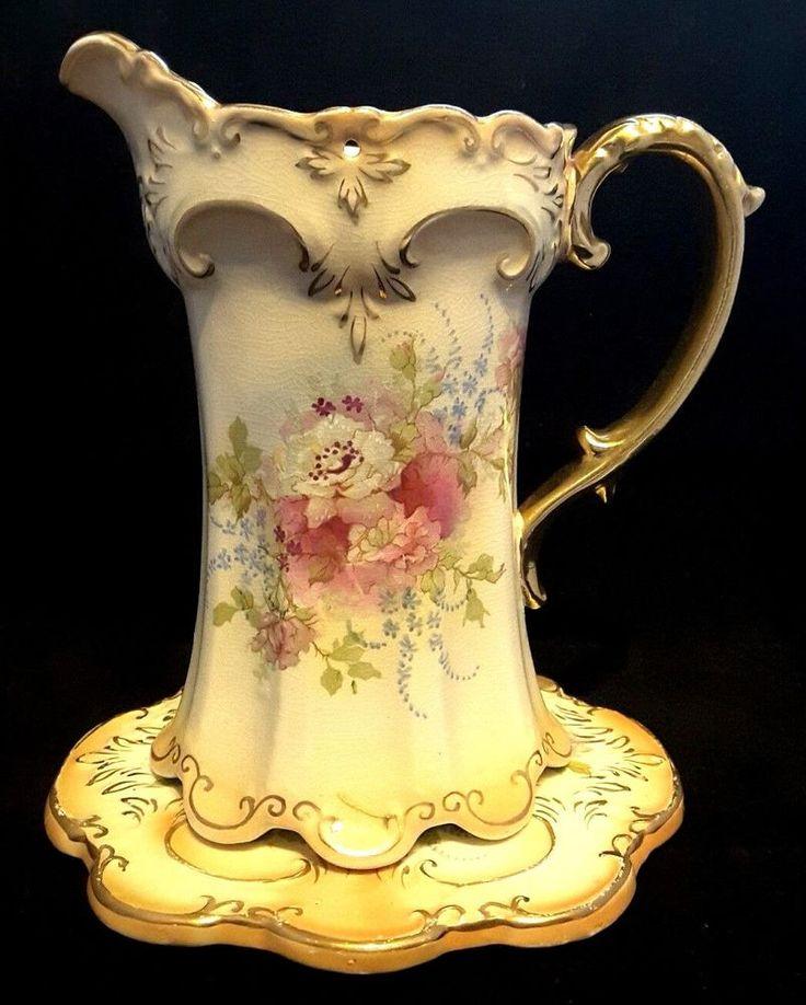 #Crown #Devon~ #Antique~#Blushware~Jug~Trivet~#Gold~#Pink #Roses #Seraphimslair See #Etsy #eBay #Twitter #Facebook & #Instagram for more #antique #vintage & #modern #art #glass #ceramics #collectibles & #gifts! https://www.ebay.co.uk/usr/seraphimslair2 https://twitter.com/Seraphimslair https://www.instagram.com/seraphimslair5stars/ https://www.etsy.com/uk/shop/seraphimslair https://www.facebook.com/seraphimslair/ #USA #UK  #EUROPE #STYLE #STYLISH #FASHION #POTTERYBARN #POPULAR #FAMILY…