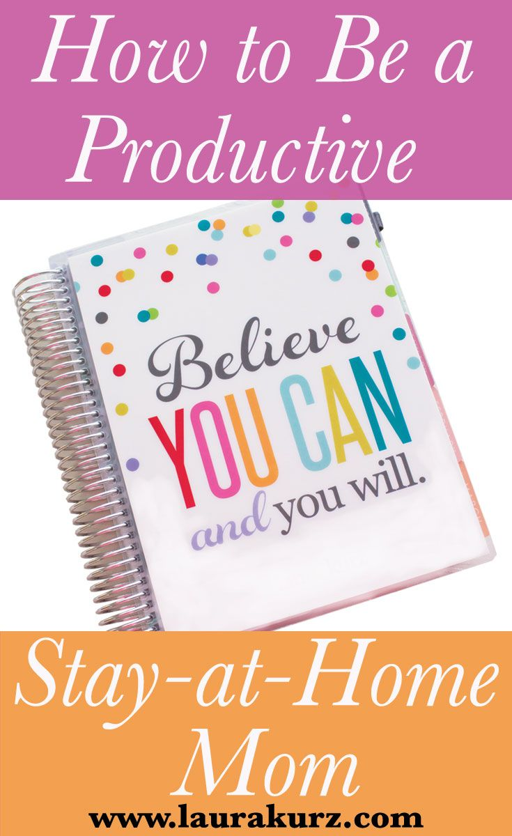 5 Tips for Being More Productive at Home with the Kids!