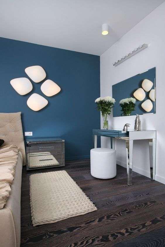 Idee per arredare la camera da letto con il verde petrolio (Foto) | Designmag