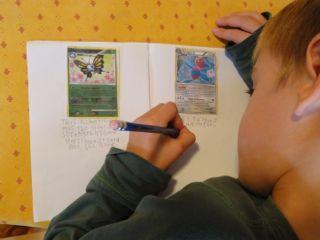 Pokemon Writing Activities