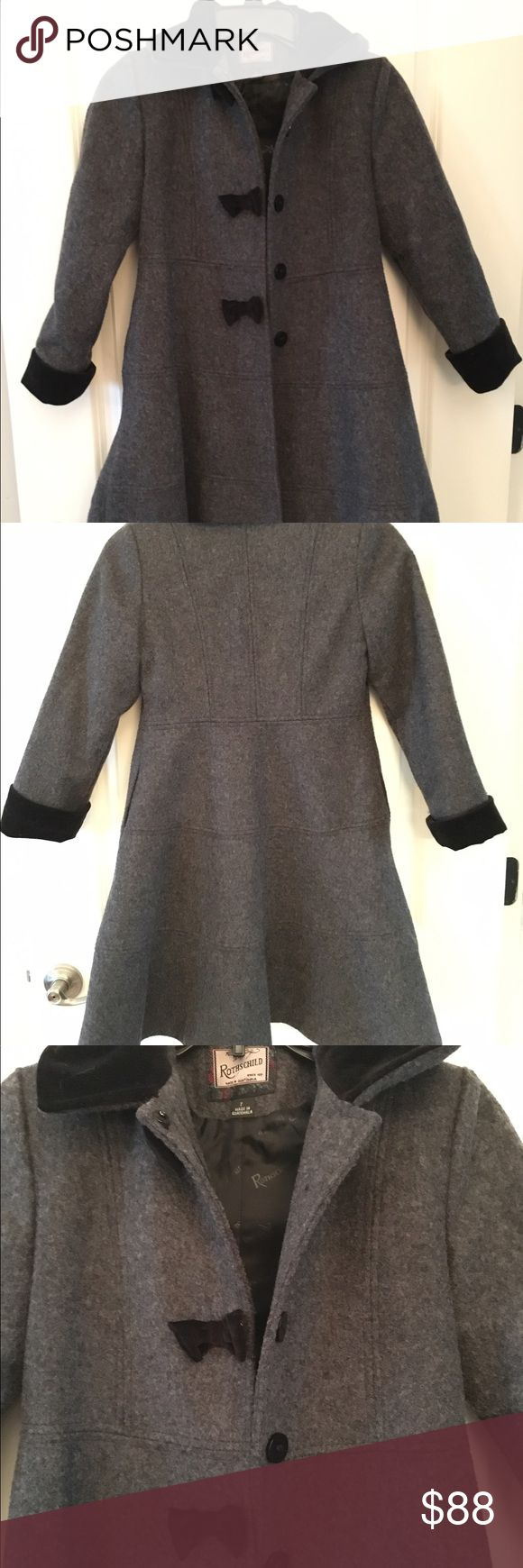 Wool Pea Coat 100% Wool Pea Coat. Uber Fashionable for the winter months! Rothschild Jackets & Coats Pea Coats