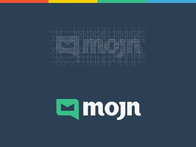Mojn Logo Design / Branding by Paulius Kairevičius