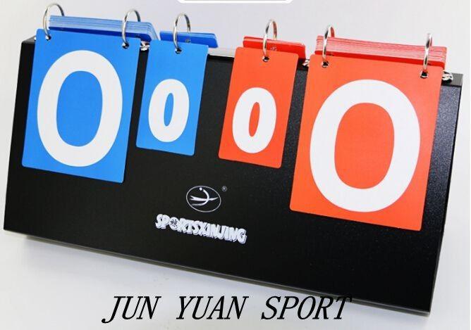 Portable basketball Score board 4 digit Sports scoreboard for volleyball table tennis handball badminton scoring,Free shipping #Affiliate
