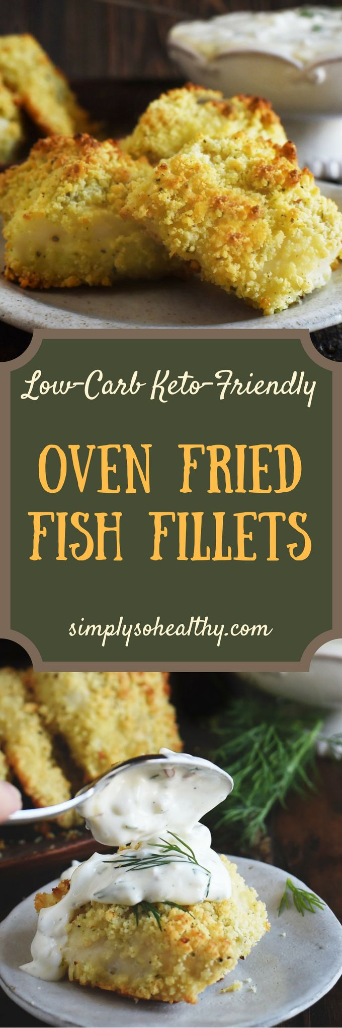 Low Carb Oven Fried Fish Fillets Recipe Fried Fish