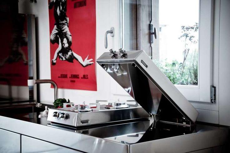 Arredare un appartamento di 45 mq - Cucina salvaspazio