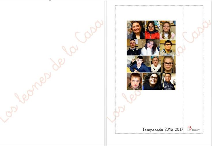 Libreta personalizada para Los leones de la Casa. Fin de la Temporada de lectura 2016-2017
