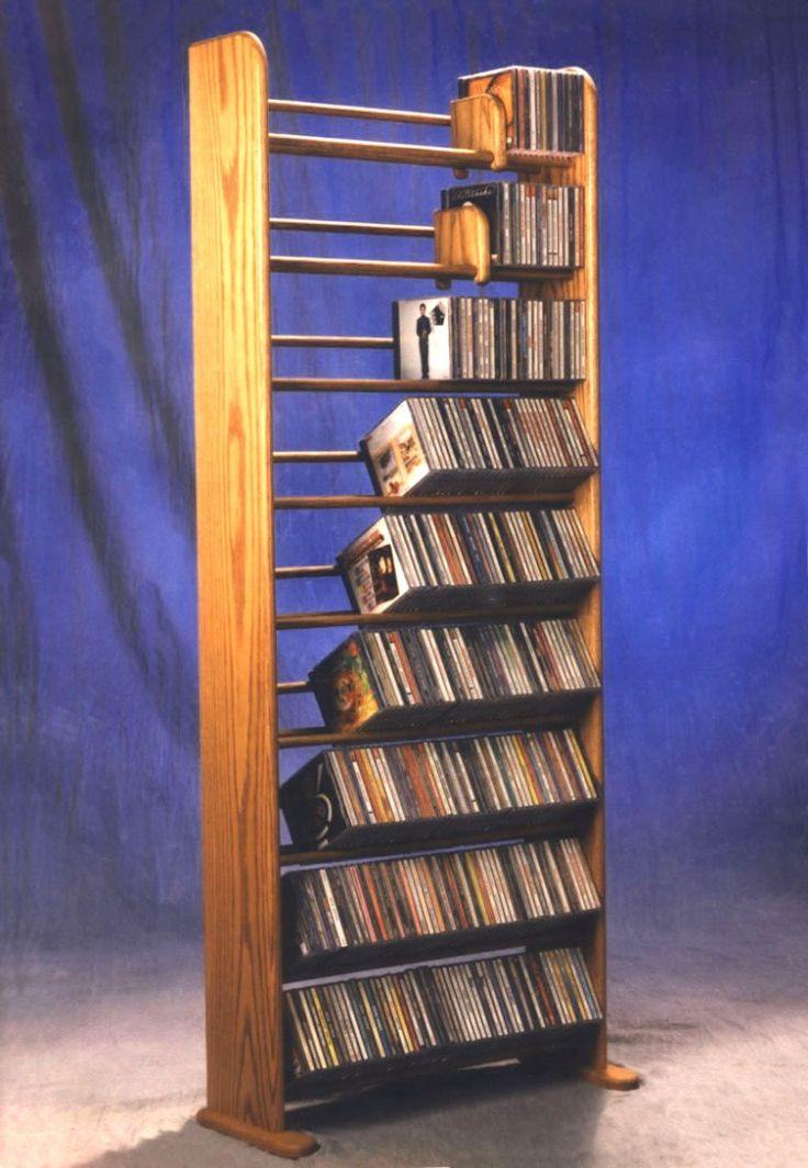 The 25 best cd racks ideas on pinterest cd holder case for Plan storage racks