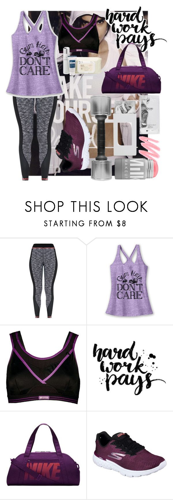 """just do it"" by czechlove88 ❤ liked on Polyvore featuring NIKE, Shock Absorber and Skechers"
