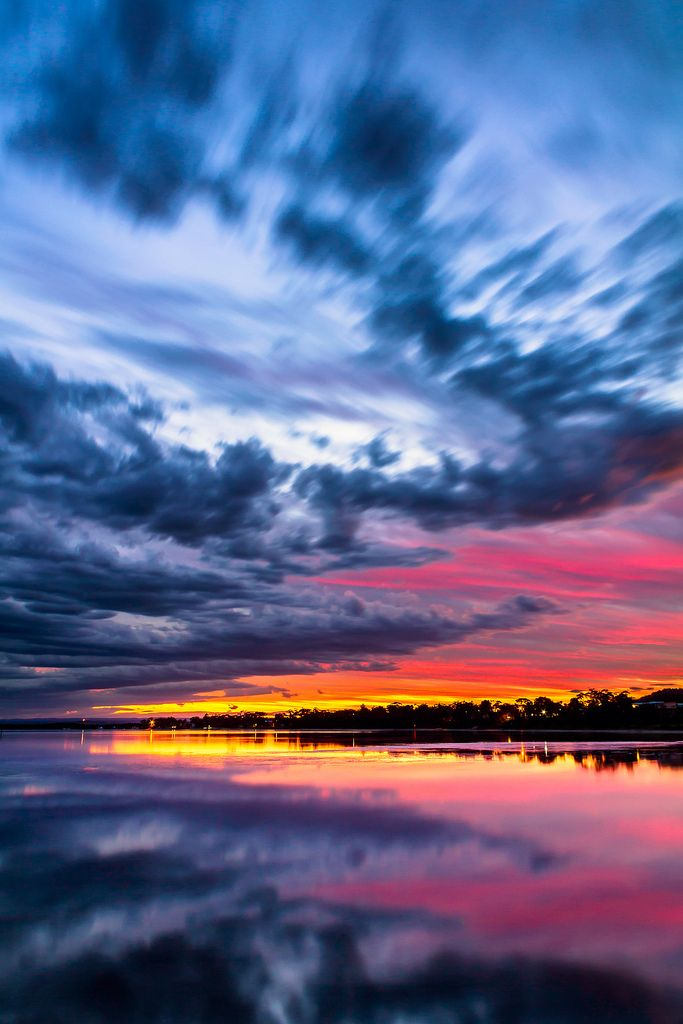 Shoalhaven River at Sunset, New South Wales, Australia