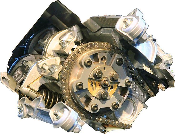 """Ford 6.2l SOHC V-8 """"Boss"""" engine"""