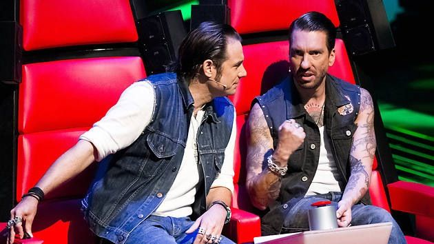Hoss Power and Boss Burns bei the Voice of Germany