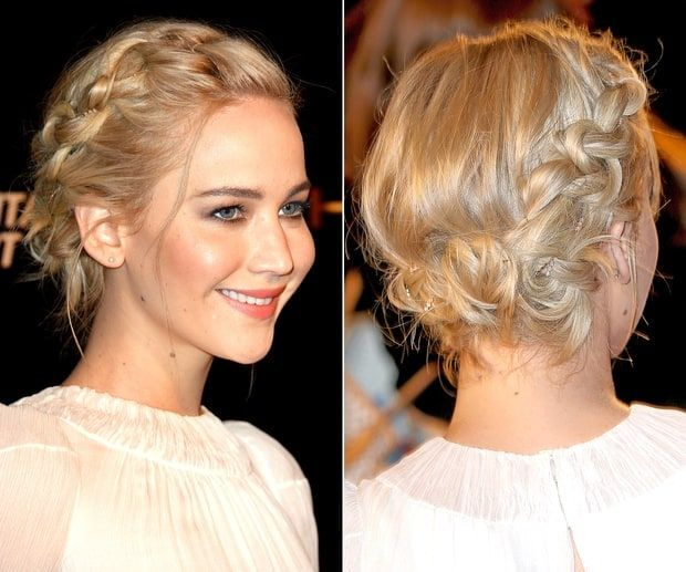 Jennifer Lawrence's Crown Braid