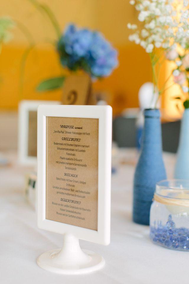 Wunderschöne DIY Hochzeit in zartem Blau | Hochzeitsblog - The Little Wedding Corner
