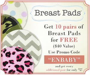 10 pairs of breast pads for FREE! You will just pay shipping and handling. Great way to save when expecting a baby.