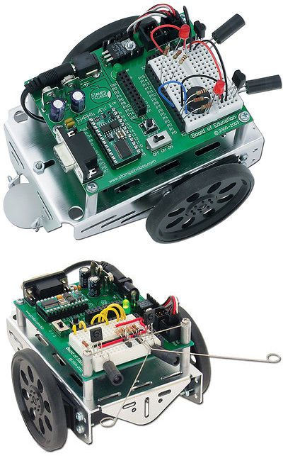 Other Medical Monitoring: Parallax Boe-Bot Educational Science Robot Kit For Kids -> BUY IT NOW ONLY: $189.95 on eBay!