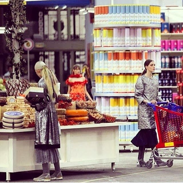 The Terrier and Lobster: Chanel Fall 2013: Chanel Shopping Center Set