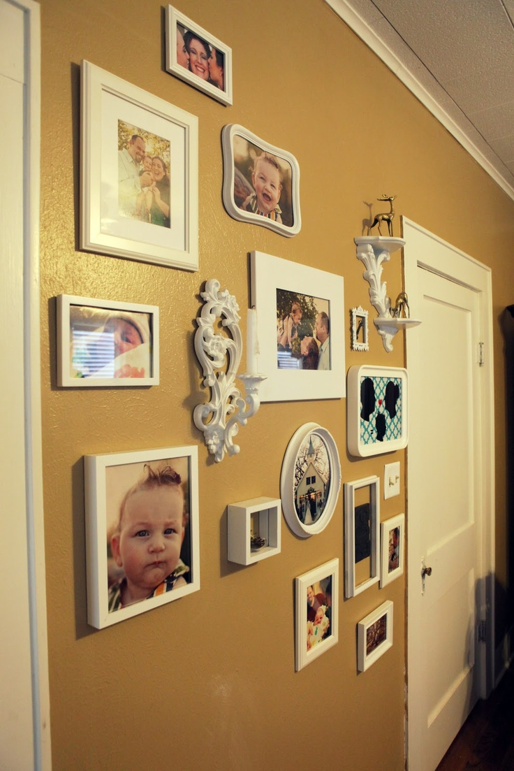 142 best Gallery Walls images on Pinterest | Home ideas, Picture ...