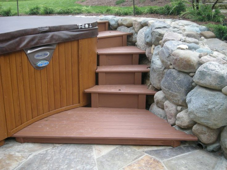 find this pin and more on hot tubs - Patio Ideas With Hot Tub
