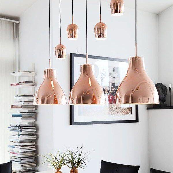 Copper shining hanging lmaps Blues - By Rydens  #sessak #byrydens #blues #homeinspo #interior #interiordecor #interiorinspo #interiorstyling #sisustus #sisustusinspiraatio #scandinaviandesign #scandinavianinterior #scandinavianhome #home #nordicinspiration #nordicdesign