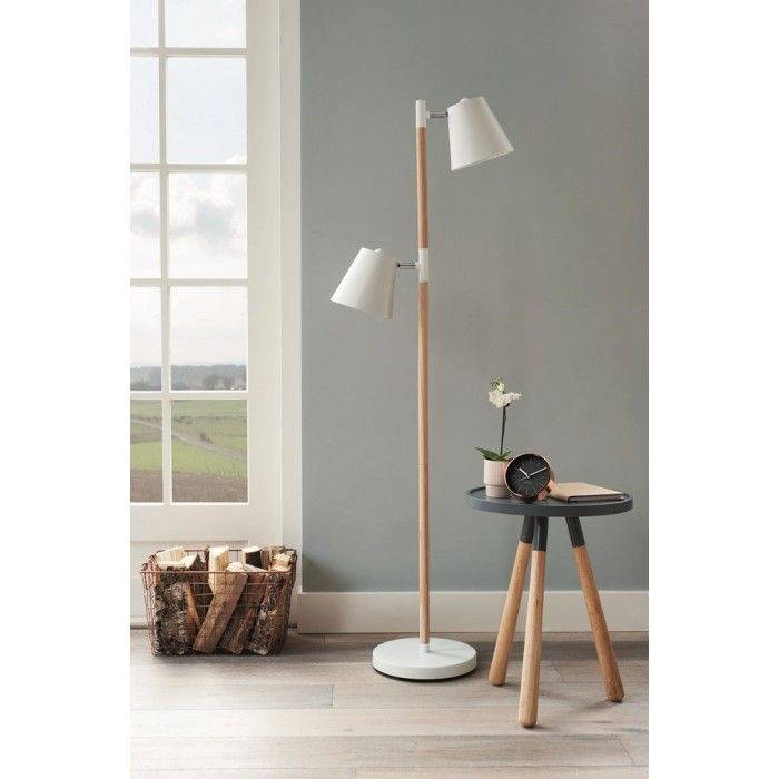 vloerlamp lampadaire rubi lampe sur pied en bois et m tal staande lamp in hout en metaal. Black Bedroom Furniture Sets. Home Design Ideas