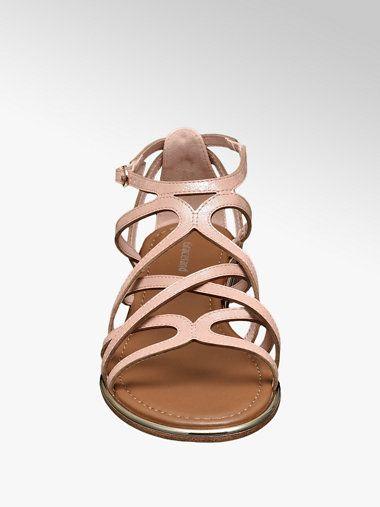 c36a55a4efa18 Różowe sandały damskie Graceland - 1210981 - deichmann.com | mohito ...