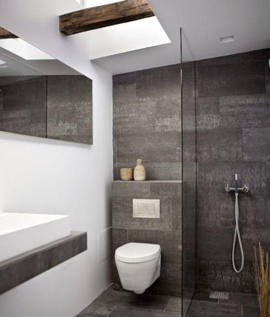 20 ideas de decoración para baños modernos pequeños: