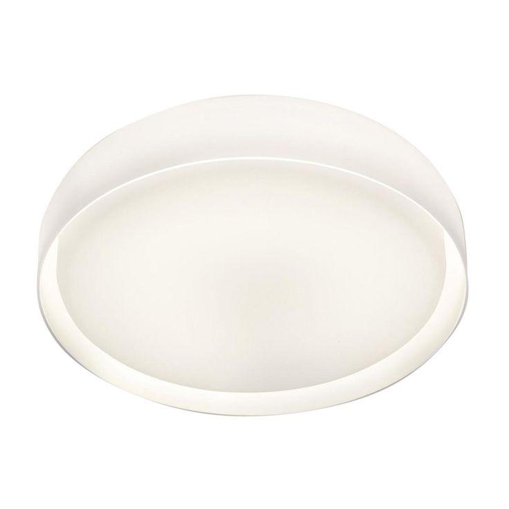 Prandina - Mint W5 Wand-/Deckenleuchte - weiß/opal/Ø46cm
