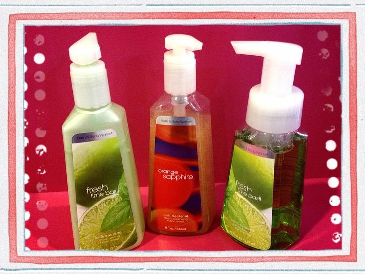 Jabón Antibacterial marca Bath and Body Works los tenemos en Miss Pink! Bs.140 de diferentes esencias