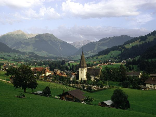 Switzerland. Where the hills are alive...