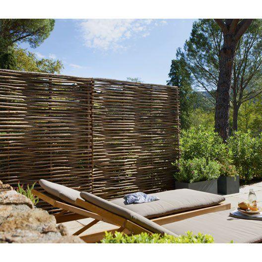 les 25 meilleures id es de la cat gorie palissades bois sur pinterest cl tures l 39 arri re. Black Bedroom Furniture Sets. Home Design Ideas