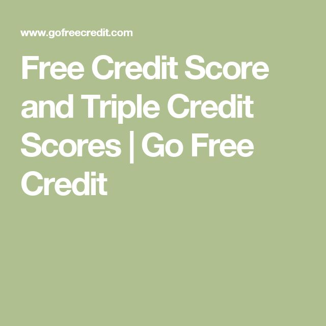 how to get free credit score and report