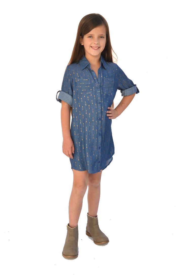 The Laramie Shirt, Tunic, or Dress by Hey June Handmade