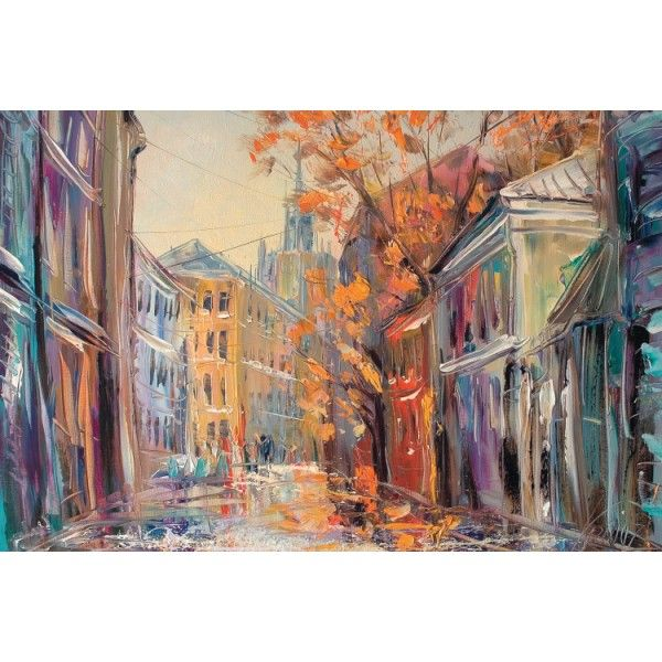 Moscow. Sechenovskiy Lane, 2008 - Postcards, Pictorial art