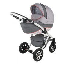 Детская коляска для новорожденных Adamex Barletta Dream Collection Red - http://babybaby.kz/products/kolyaski-progulochny-e/kolyaski_3_v_1/kolyaska-3-v-1-adamex-barletta/ Это модная и яркая коляски для новорожденных и детей до 3-х лет.