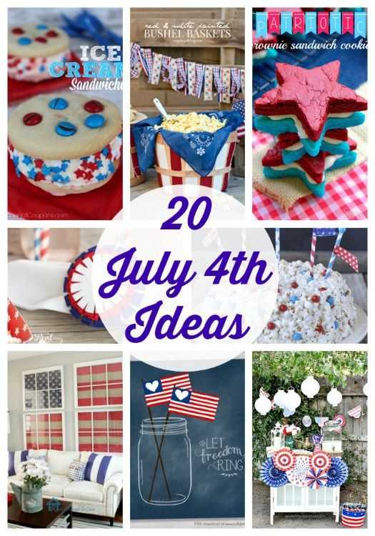 20 fabulous 4th of July Ideas
