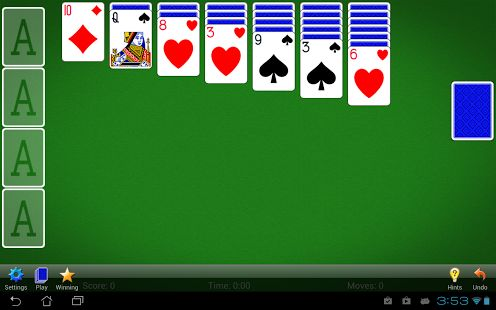 We've always strived to stay true to the classic Solitaire card game (also known as Klondike or Patience), the most popular version of Solitaire! A truly solitary experience!