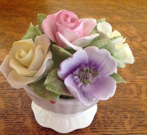Coalport Vintage Bone China Flowers: Floral Jewellery, China Flowers, Bone China, China Bouquets, China Florals, Floral Art